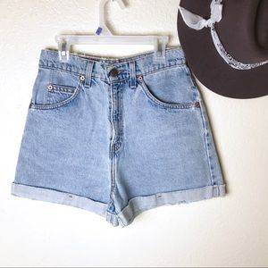 Levi's Vintage High Rise Relaxed Fit Denim Shorts